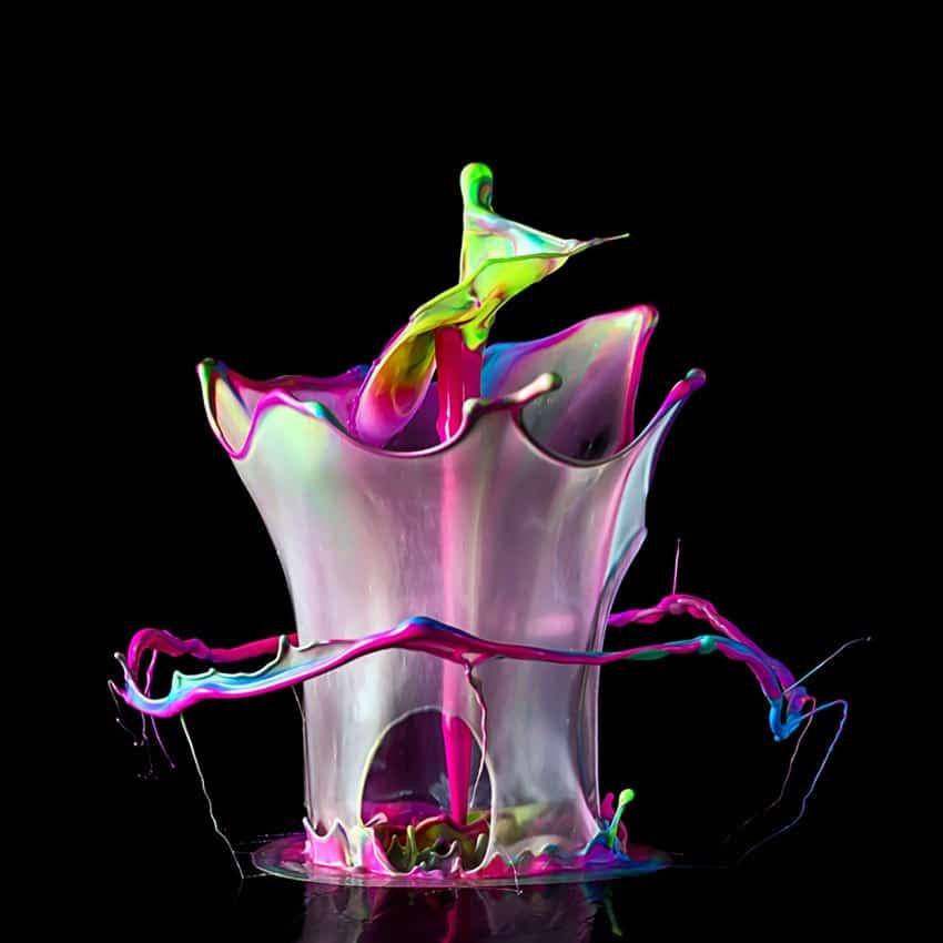 Fotografia Splash Tinta