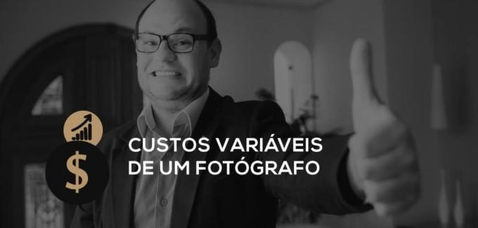 Custos variáveis de um fotógrafo definir preços
