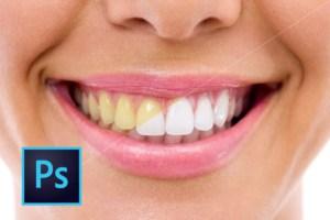 Como Clarear Dentes no Photoshop – Tutorial Completo