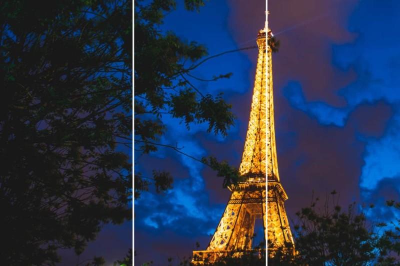 Regra dos Terços na Fotografia Paris