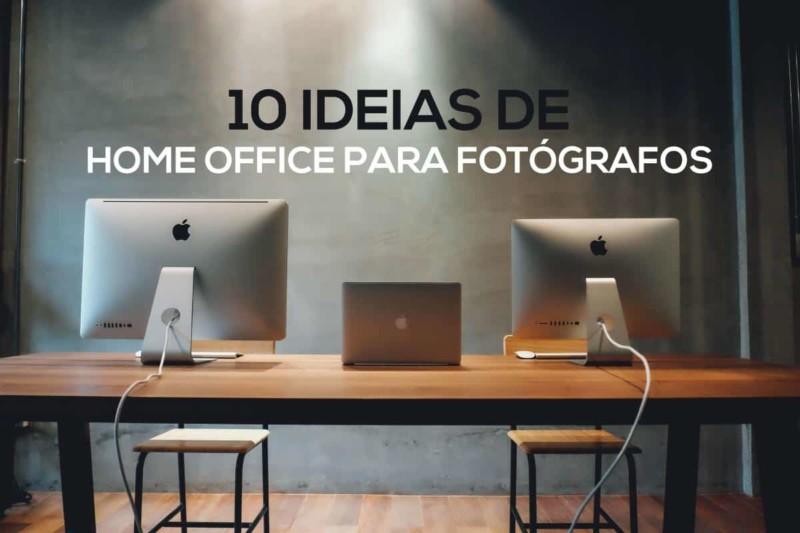 10 Ideias de Home Office para Fotógrafos