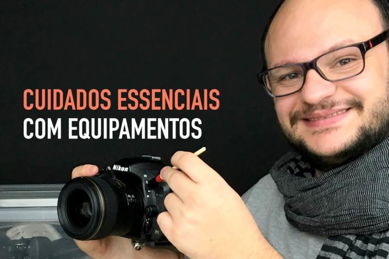 Como limpar, guardar e evitar fungos em equipamentos fotográficos