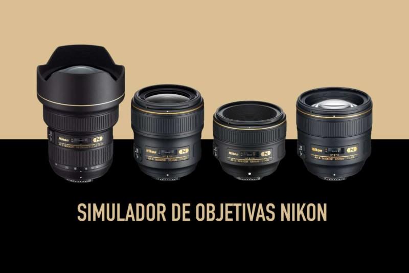 Simulador de Lentes Nikon – Pode ser usado para Canon também