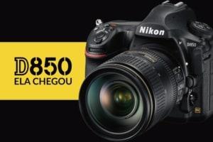 A nova Nikon D850 chega com tudo e mostra que a marca está atenta