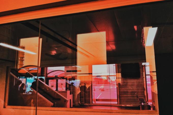 Fotos Tumblr coloridas reflexos