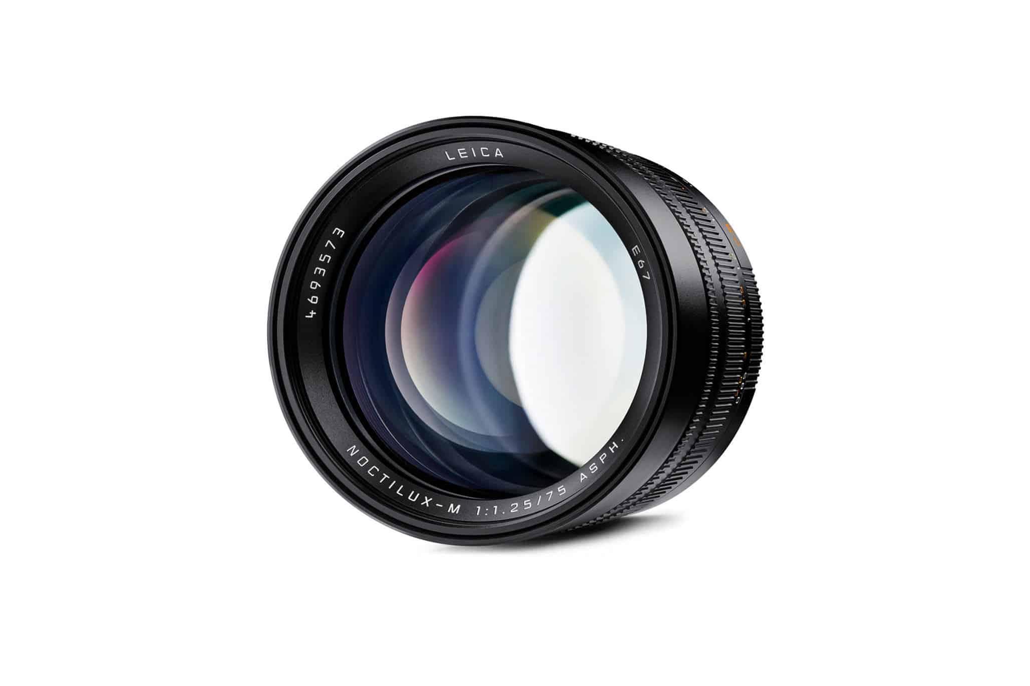 Leica Noctilux 75mm f/1.25 Frente