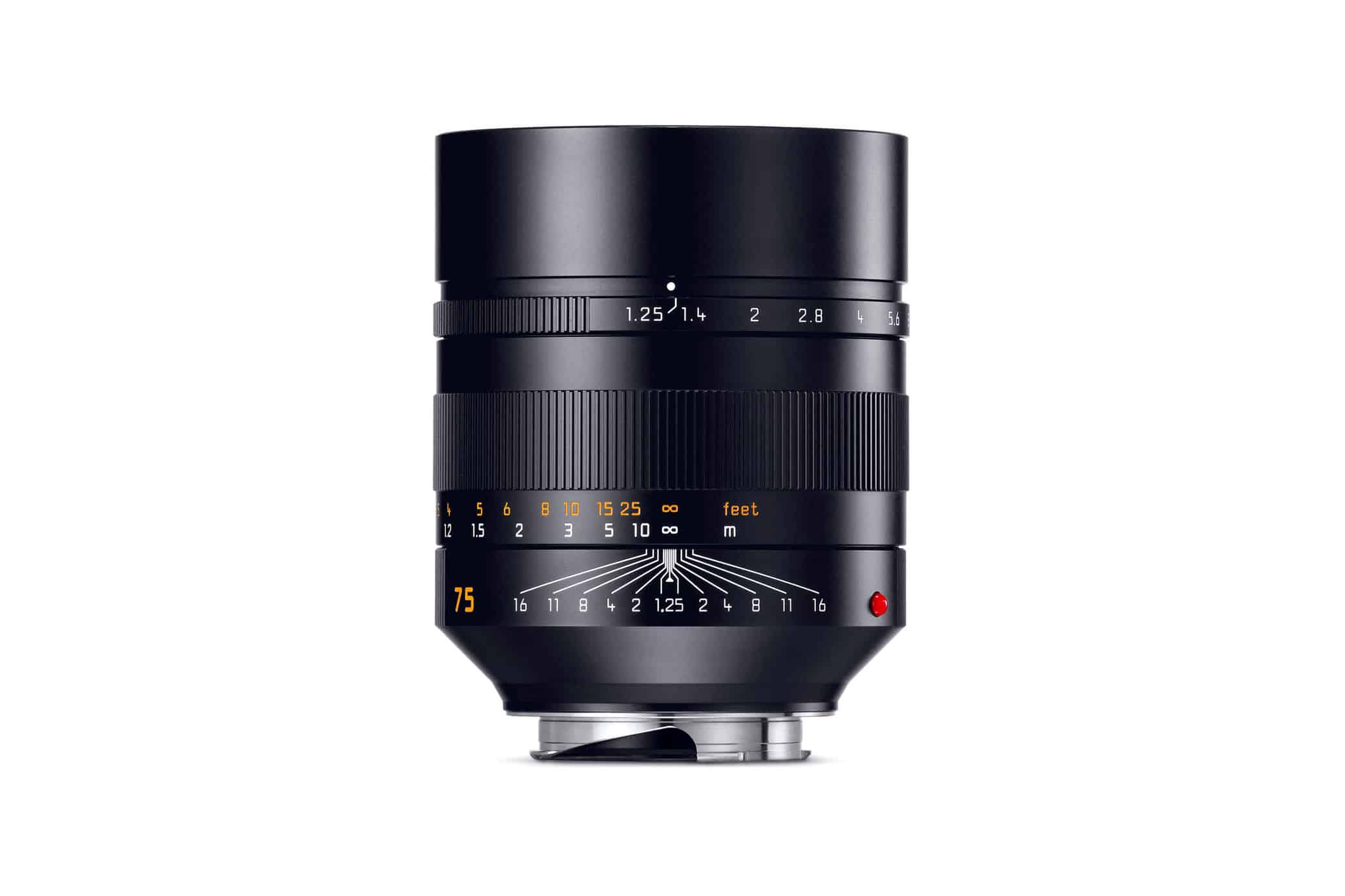 Leica Noctilux 75mm f/1.25 Lateral