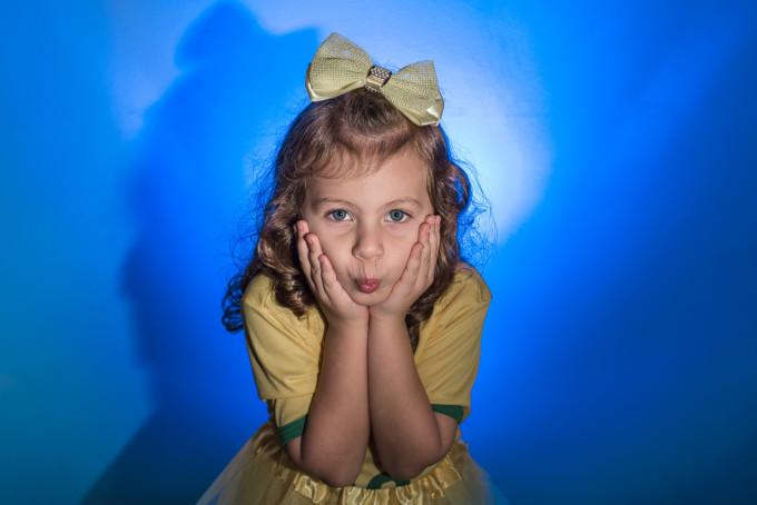 Fotos Criativas Coloridas de Crianças