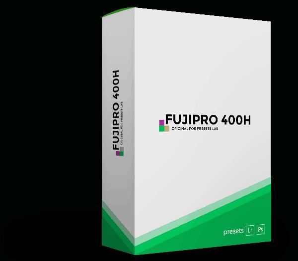 Presets Fuji Pro 400H Mockup