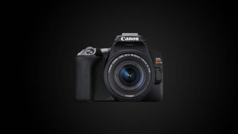 Camera para iniciantes na fotografia Canon
