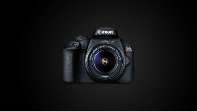 Camera para iniciantes T100