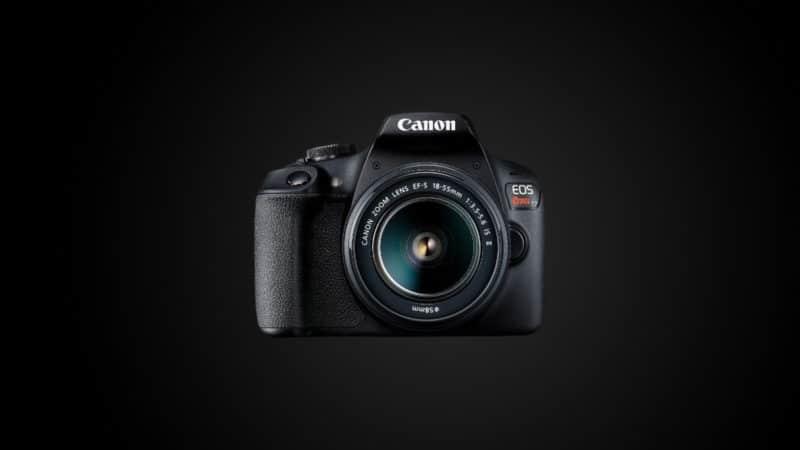 Camera para iniciantes T7