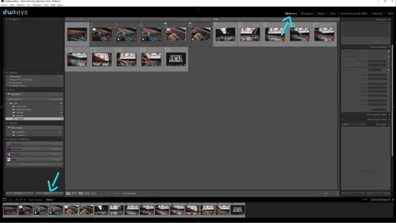 Exportar fotos no Lightroom
