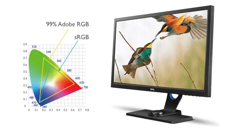 Monitor Benq SW 2700PT Adobe RGB