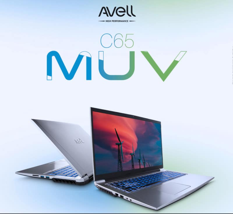 notebook Avell C65 MUV